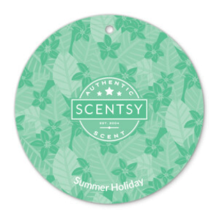 Summer Holiday Scent Circle