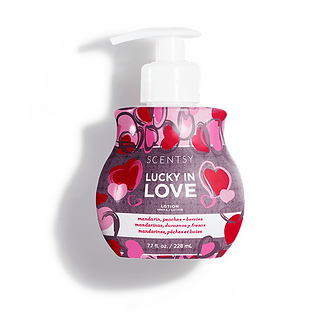 Lucky in Love Scentsy Lotion