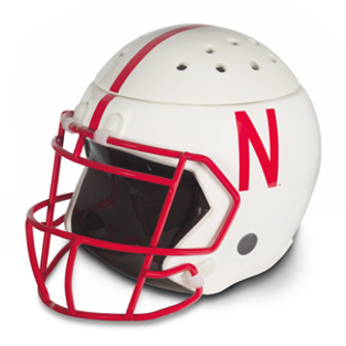 University Of Nebraska Football Helmet Scentsy Warmer