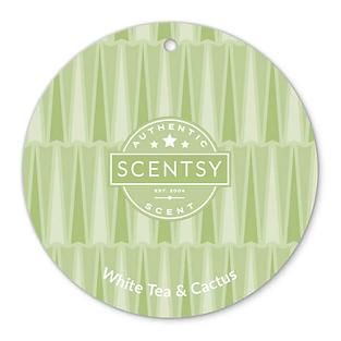White Tea and Cactus Scent Circle
