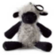 Lulu the Lamb Apple Crush Buddy Clip