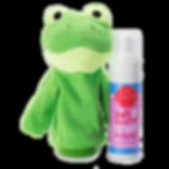 Ribbert the Frog Scrubby Buddy Bath Smoothie