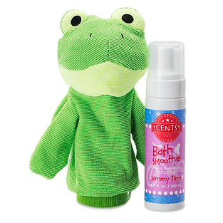 Ribbert the Frog Scrubby Buddy Bath Smoothie