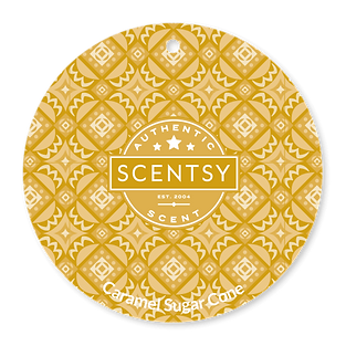 Caramel Sugar Cone Scent Circle