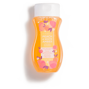 Peach and White Amber Scentsy Body Wash