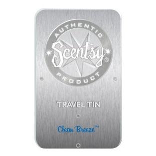 Clean Breeze Scentsy Travel Tin
