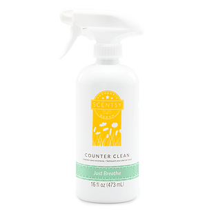 Just Breathe Scentsy Counter Clean