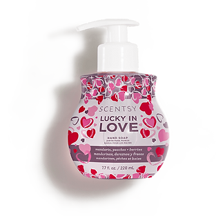 Lucky in Love Scentsy Hand Soap