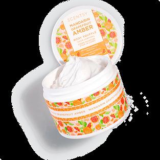 Mandarin Grapefruit Amber Body Souffle