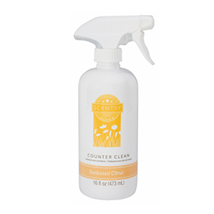 Sunkissed Citrus Scentsy Counter Clean