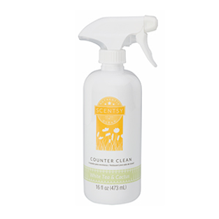 White Tea and Cactus Scentsy Counter Clean