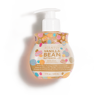 Vanilla Bean Butter Cream Scentsy Hand Soap