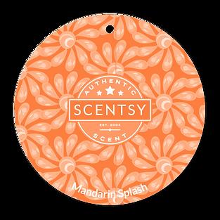 Mandarin Splash Scent Circle