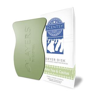 White Tea & Cactus Dryer Disk