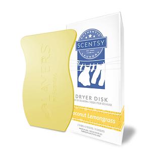 Coconut Lemongrass Dryer Disk
