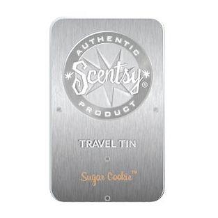 Sugar Cookie Scentsy Travel Tin