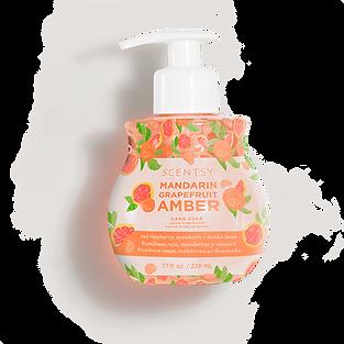 Mandarin Grapefruit Amber Scentsy Hand Soap
