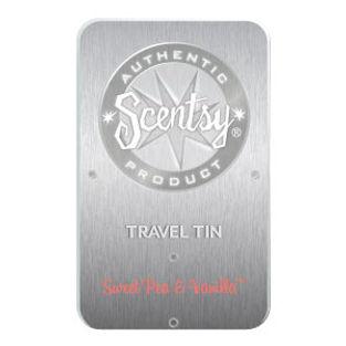 Sweet Pea and Vanilla Scentsy Travel Tin