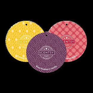 3 Scentsy Scents Circles