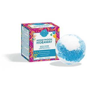 Honeymoon Hideaway Scentsy Bath Bomb