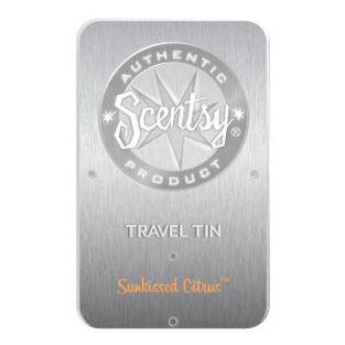 Sunkissed Citrus Scentsy Travel Tin
