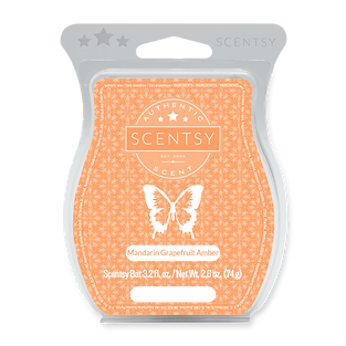 Mandarin Grapefruit Amber Scentsy Bar