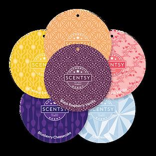 6 Scentsy Scent Circles