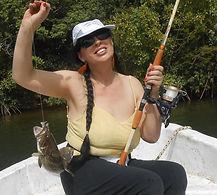 pêche en famille cap skirring