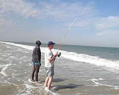 Sénégal le Surfcasting