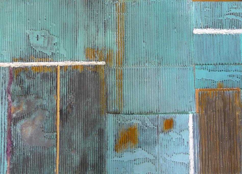 50x70; nach einem Foto von Peter Bonnén; entstanden in der Malschule Andrea Traub