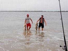Surfcasting en basse Casamance