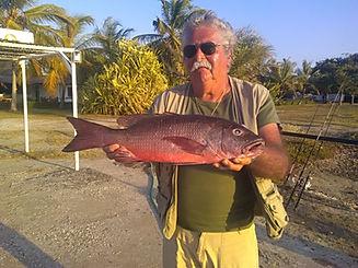 pêcher la carpe rouge en Casamance