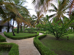 jardin de l hotel katakalousse