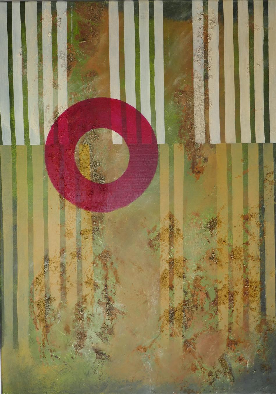 50x70; nach einer digital art Vorlage von Hartmut Manitzke (Ostfriesland)