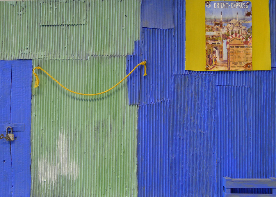 50x70; nach einem Foto von Peter Bonnén