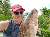 pêcher la carpe rouge en plage