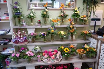 Blumensträuße bei Alles Blume