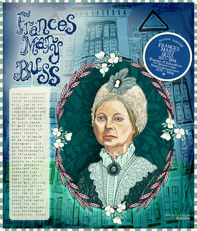 Portrait of a suffragette