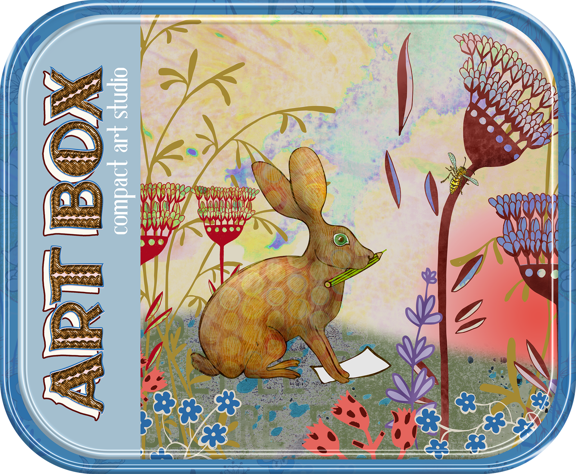 Big hare Art box