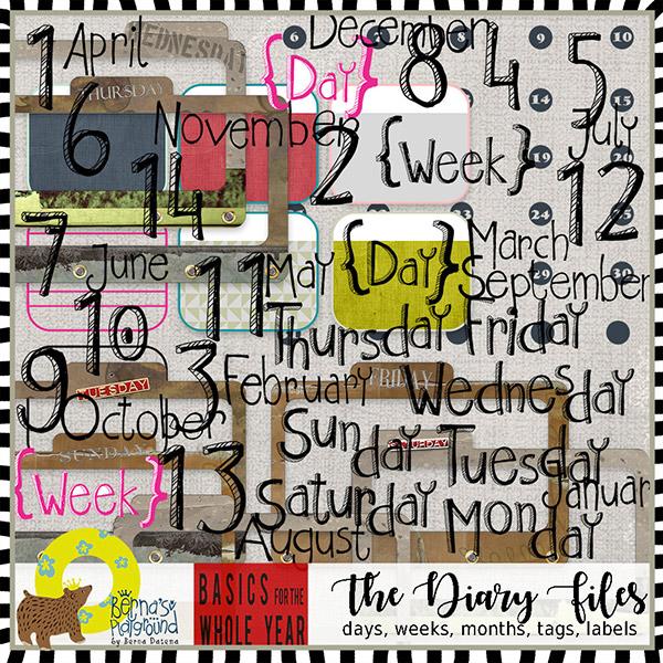 The Yearly basics - days, weeks, etc