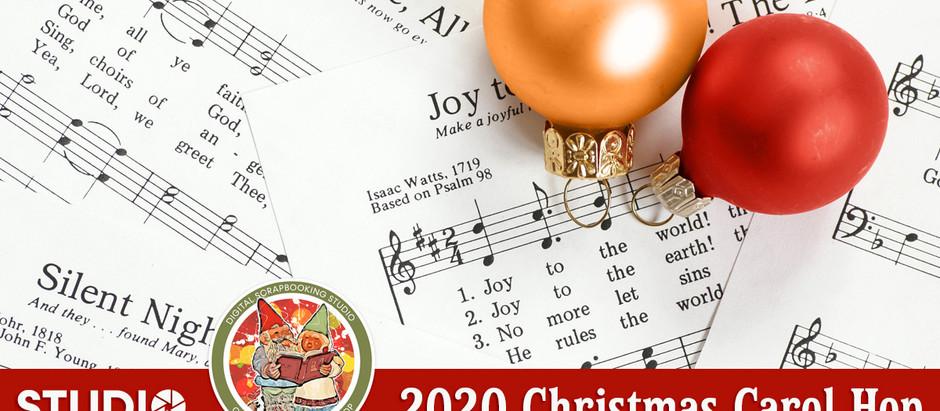 'Welcome to the Studio's Annual Christmas Carol Hop!'