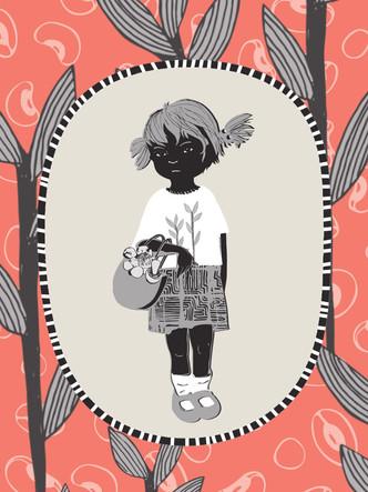 pocket card illustration