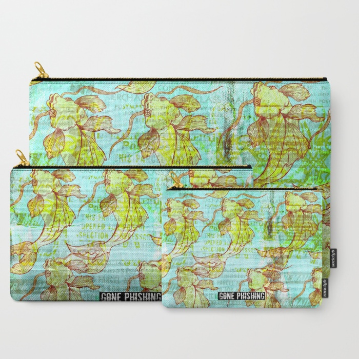 Carry all pouches - fish