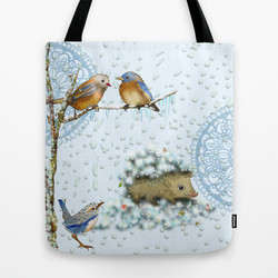 Winter shopping bag
