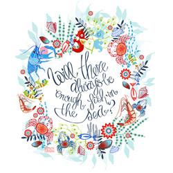 quote - wreath