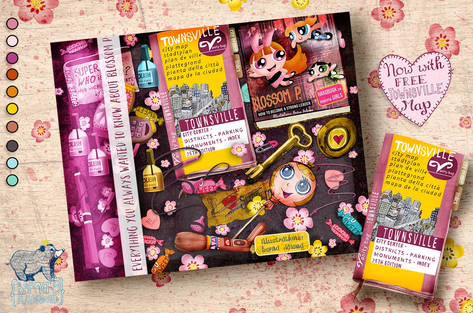 All About Blossom - book