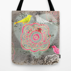 Shopping tote at Society6