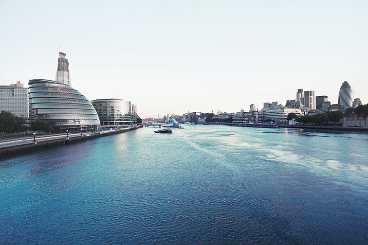 London city, river Thames, Change Frontier Homepage