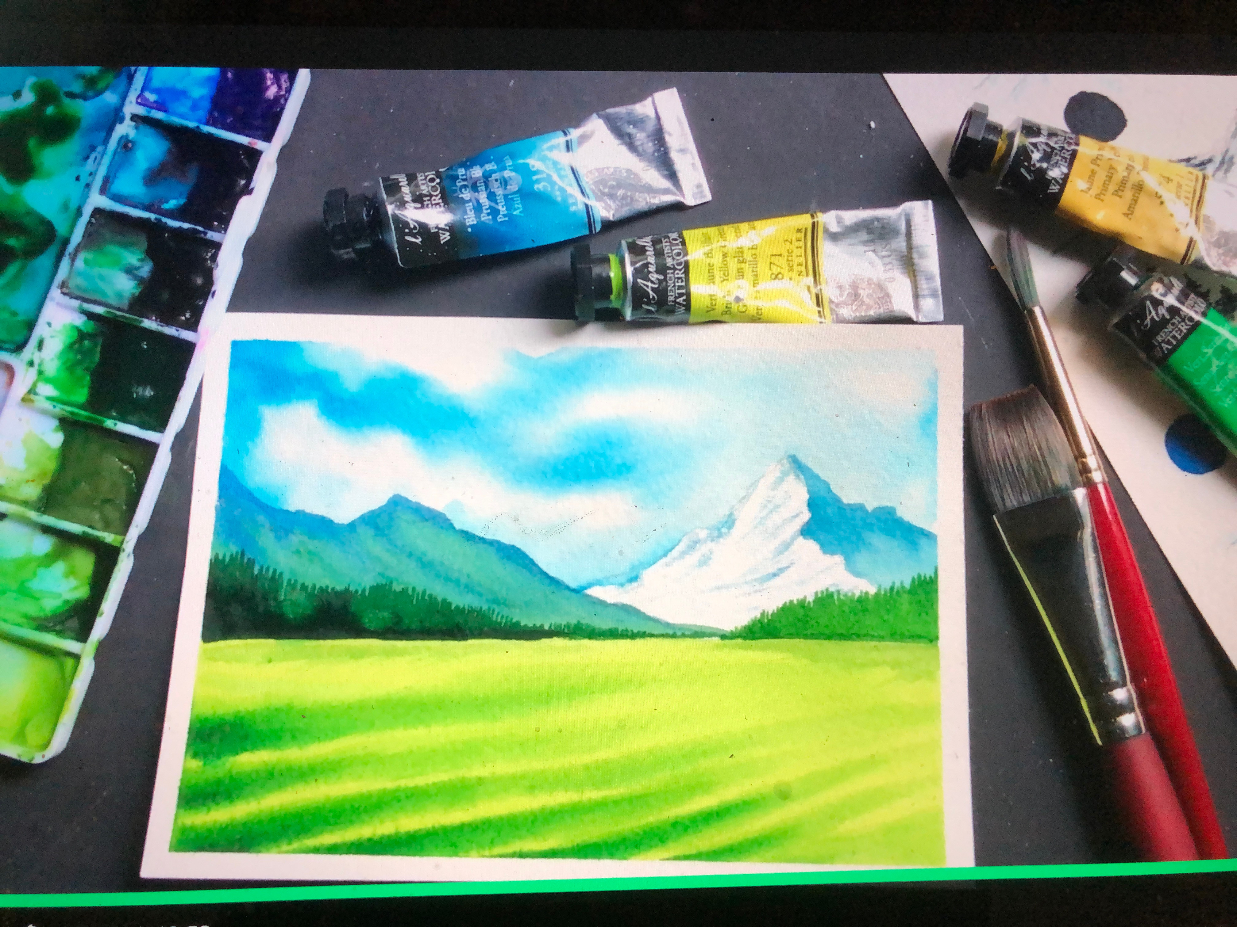 Watercolor Drawing & Painting Camp
