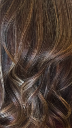 brunette brown color correction